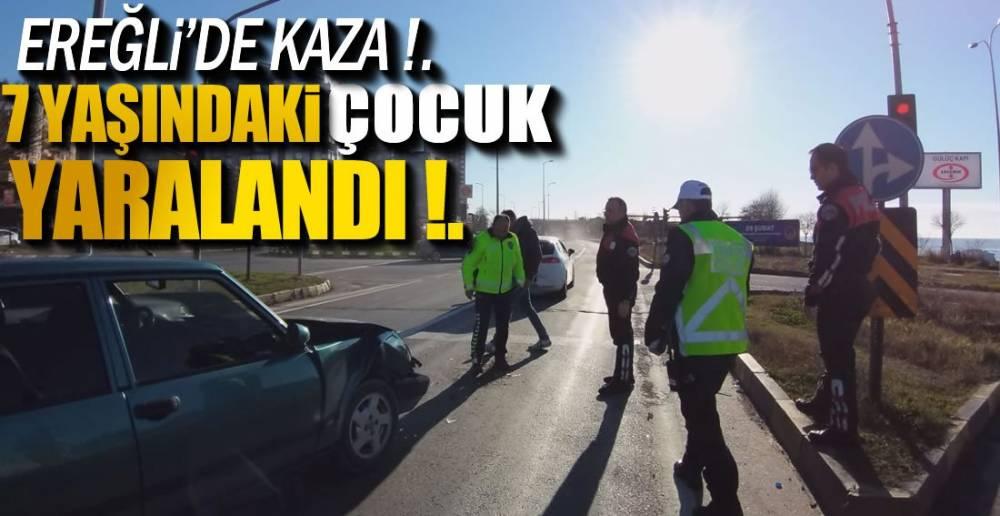 GÜLÜÇ KAVŞAKTA YAŞANDI !.