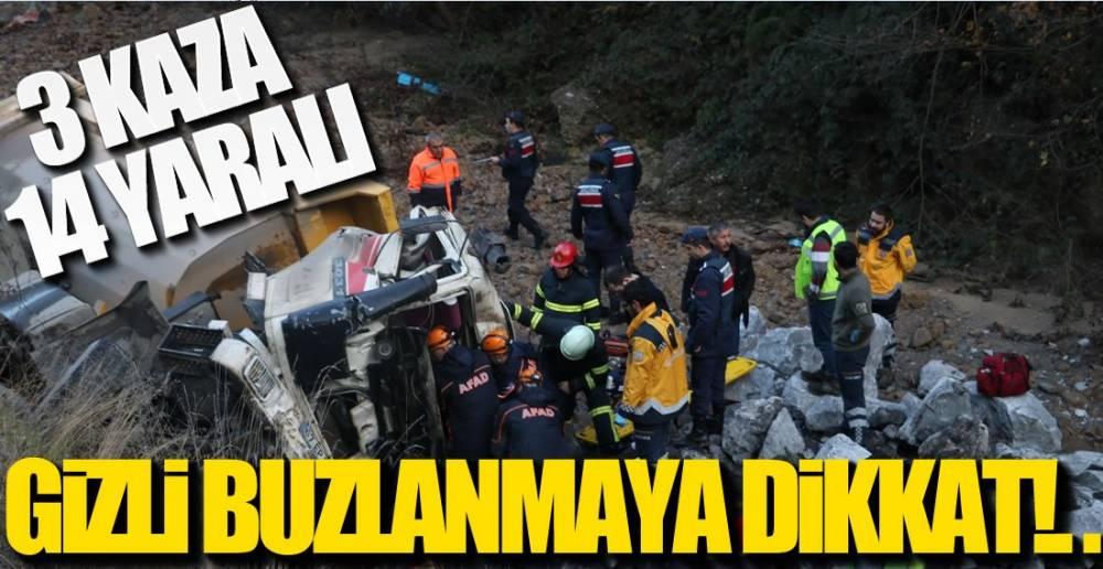 GÜNE KAZALARLA BAŞLADIK!.