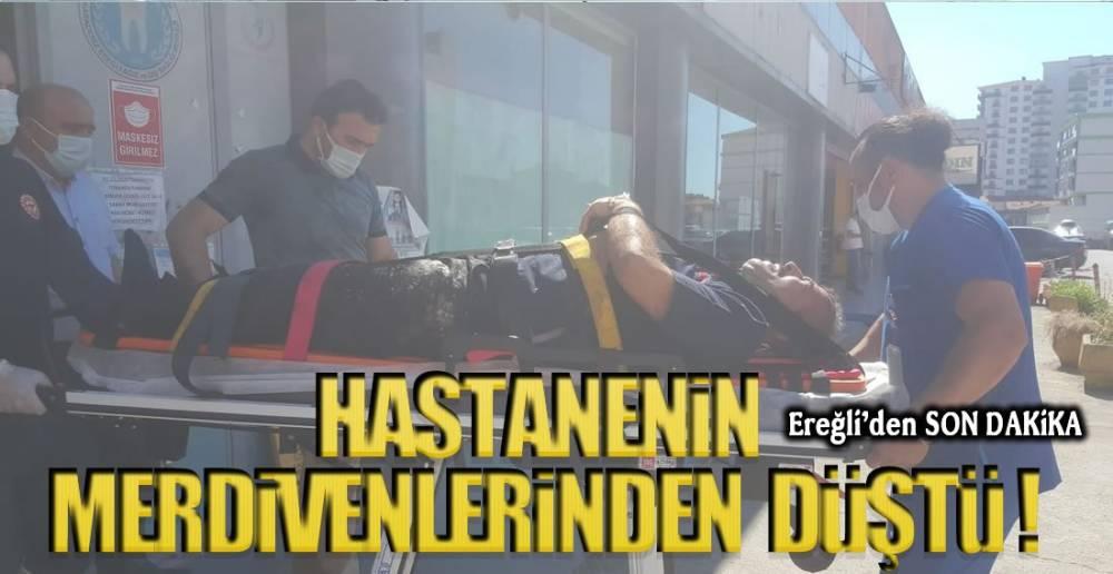HASTANEDE İŞ KAZASI !.