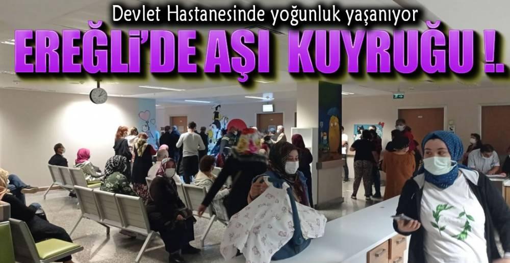 HASTANEYE AŞI AKINI !.