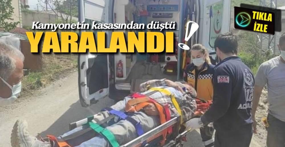 HASTANEYE KALDIRILDI !.