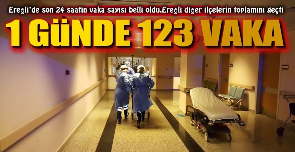 İL DÜŞÜYOR, EREĞLİ ARTIYOR !.