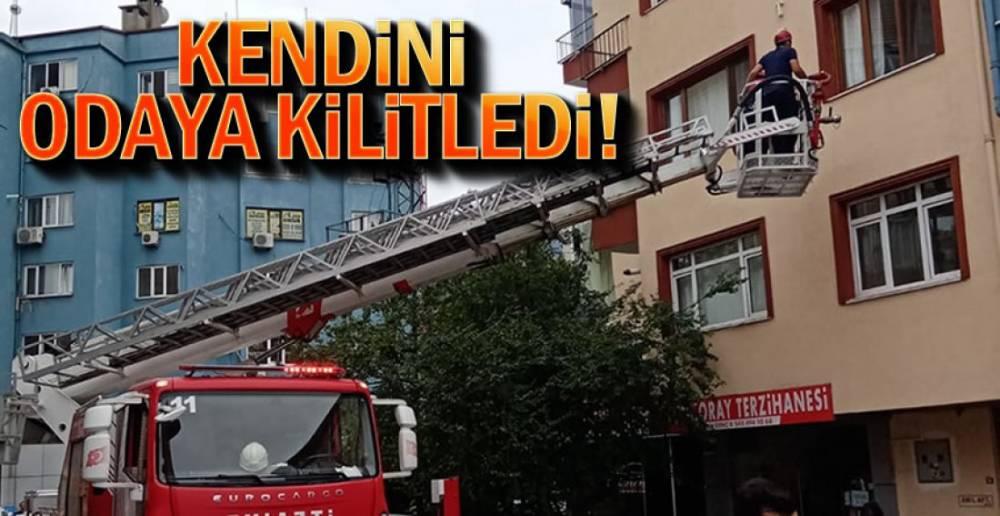 İMDADINA İTFAİYE YETİŞTİ !.