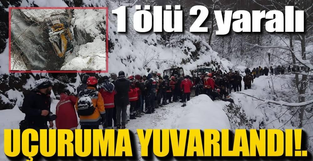 İŞ KAZASI CAN ALDI !.