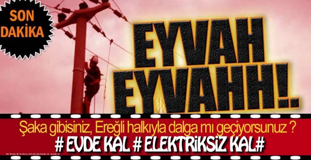 İŞTE EREĞLİ'DEKİ O MAHALLELER !.