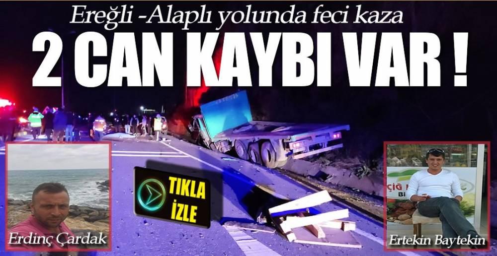 KAZA 2 ÖLÜ !.