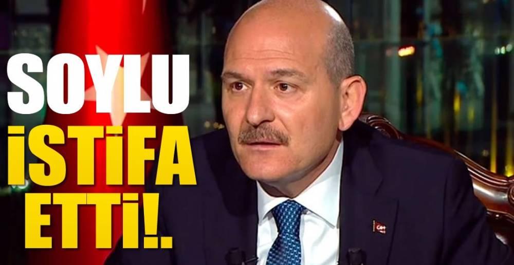 İSTİFA ETTİ!.