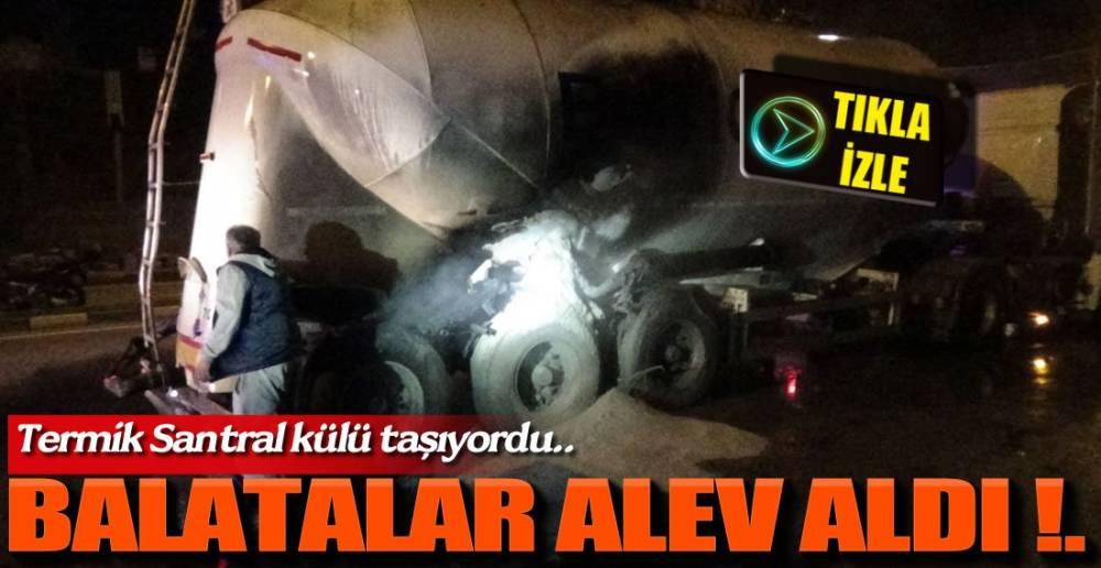 İTFAİYE MÜDAHALE ETTİ !.