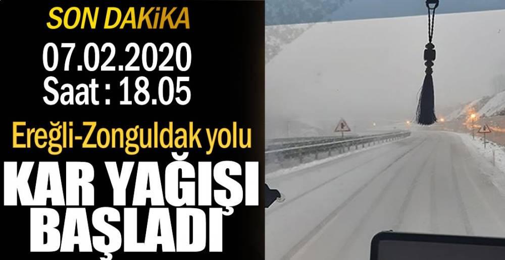 KAR YAĞIŞI ETKİLİ OLUYOR !.