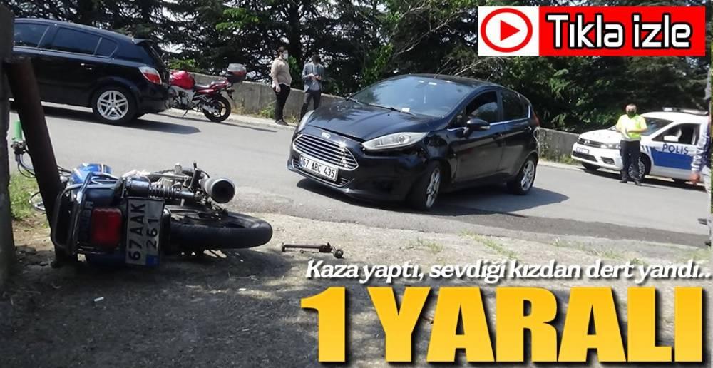 SEVDİĞİ KIZDAN DERT YANDI !.