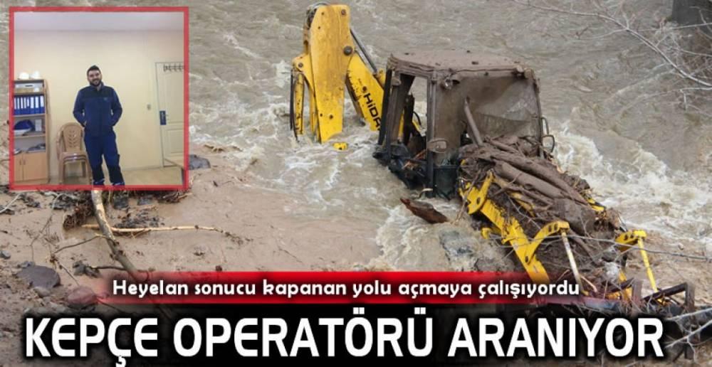 KEPÇE OPERATÖRÜ ARANIYOR.