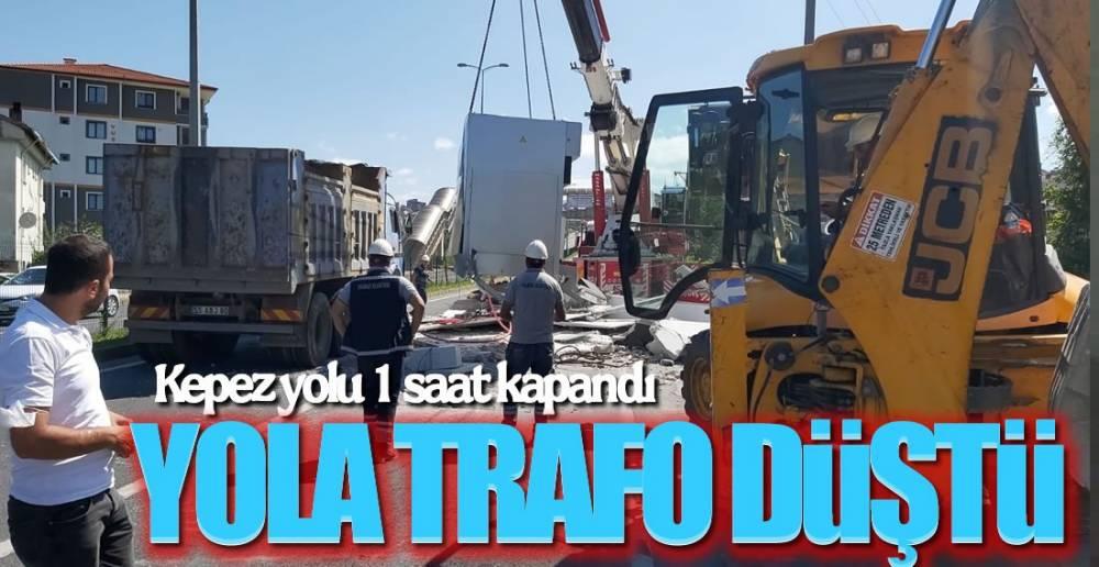 YOLA  TRAFO DÜŞTÜ!