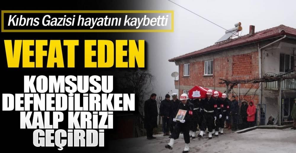 KIBRIS GAZİSİNE SON GÖREV!.