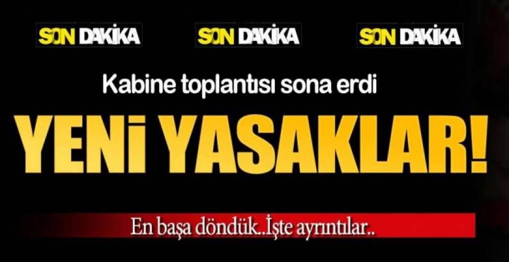 KISMI KAPANMA BAŞLADI !.