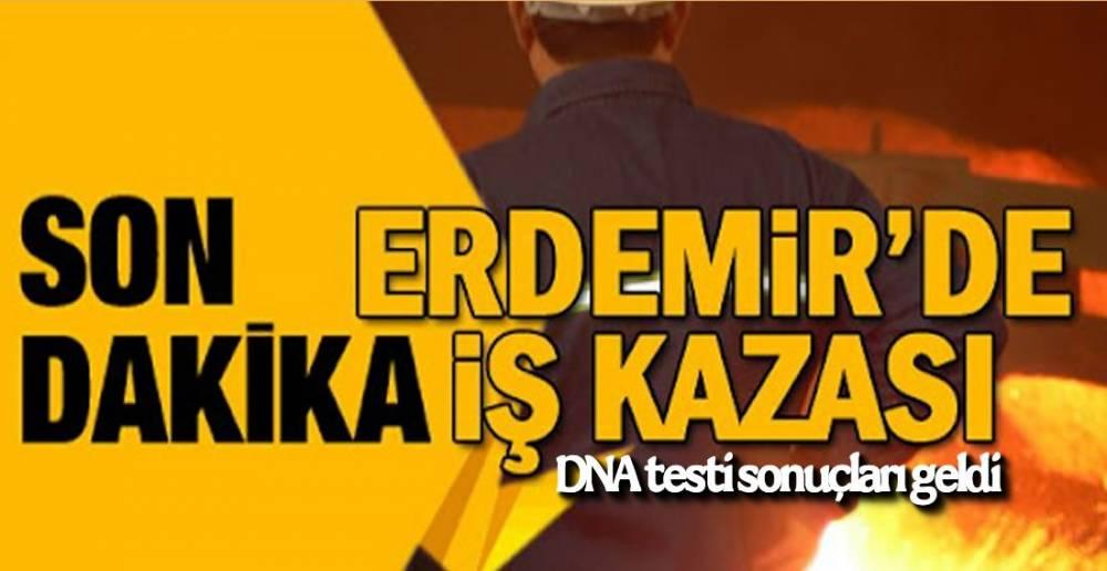 ERDEMİR'DEKİ İŞ KAZASI !.