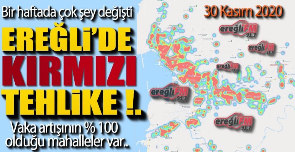 KORONA VE EREĞLİ'DE SON DURUM !.