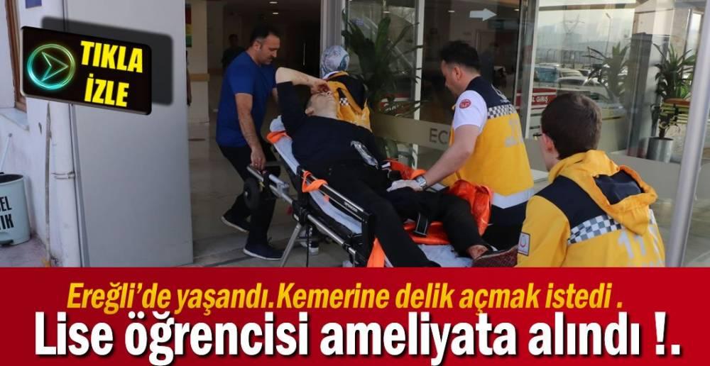 LİSE ÖĞRENCİSİ AMELİYATTA !.