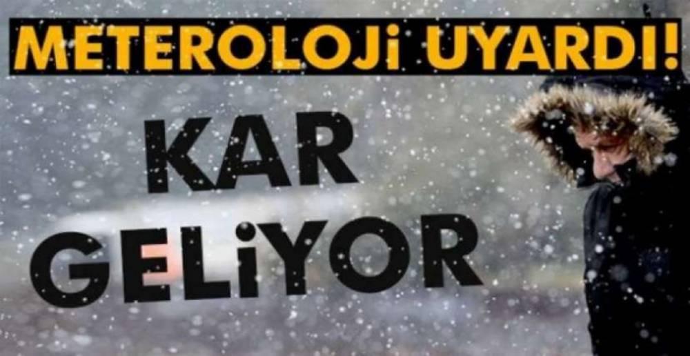 METEOROLOJİ TARİH VE SAAT VERDİ !.