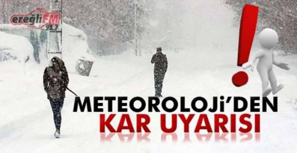 METEOROLOJİ VE VALİLİKTEN UYARI GELDİ !.