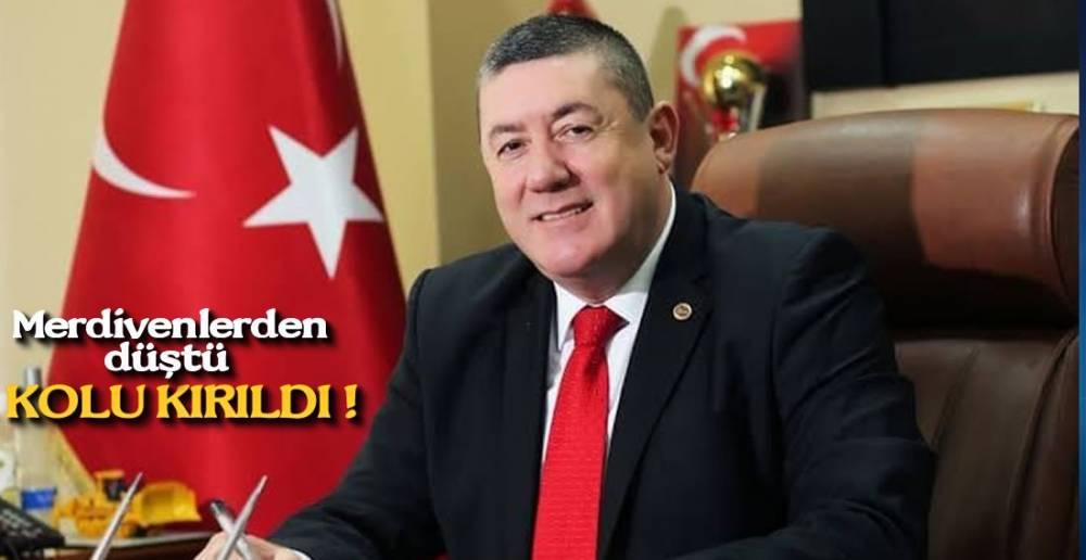 NURİ BAŞKANA NAZAR DEĞDİ !.