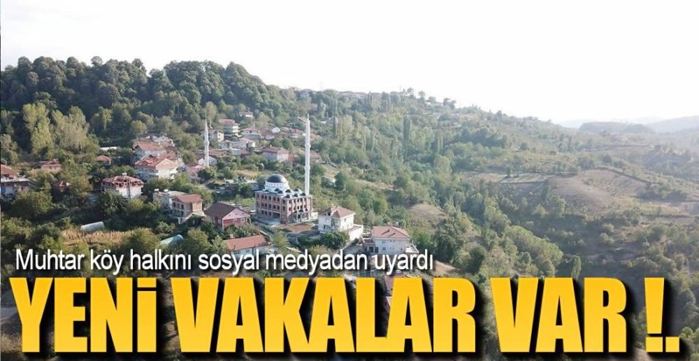 YENİ VAKALAR VAR!.