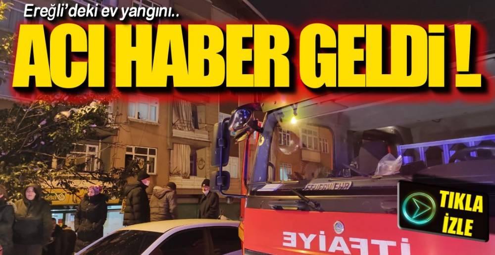 O YANGINDAN ACI HABER !.