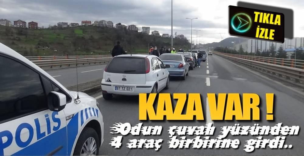 ODUN ÇUVALI KAZAYA NEDEN OLDU !.