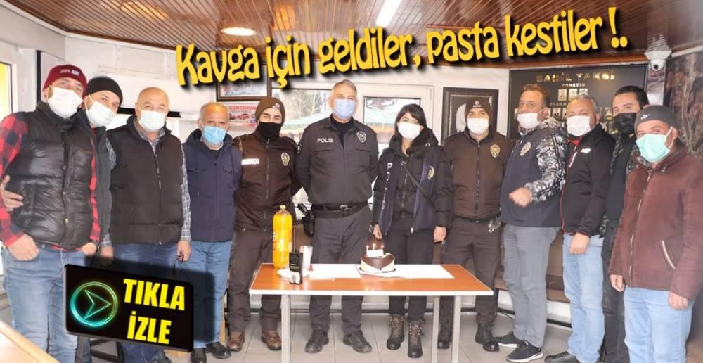 OLAYA GELEN POLİS VE BEKÇİLERE SÜRPRİZ !.