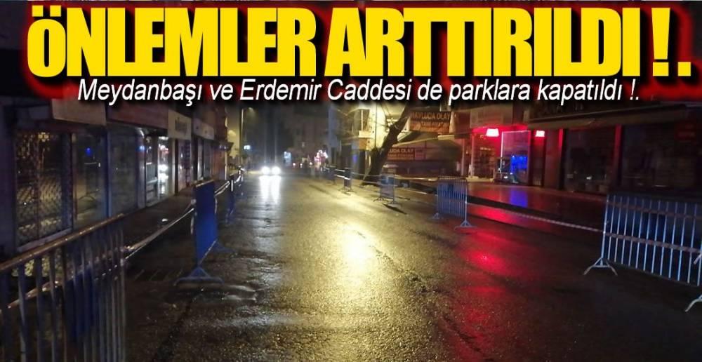 PARK ALANLARINA YASAK GELDİ !.