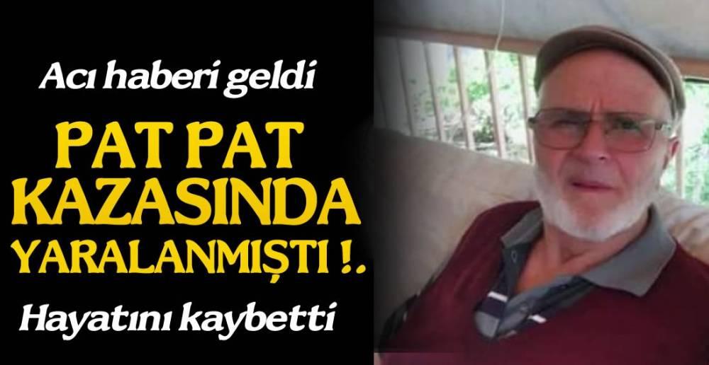 PATPAT BİR CAN DAHA ALDI !.