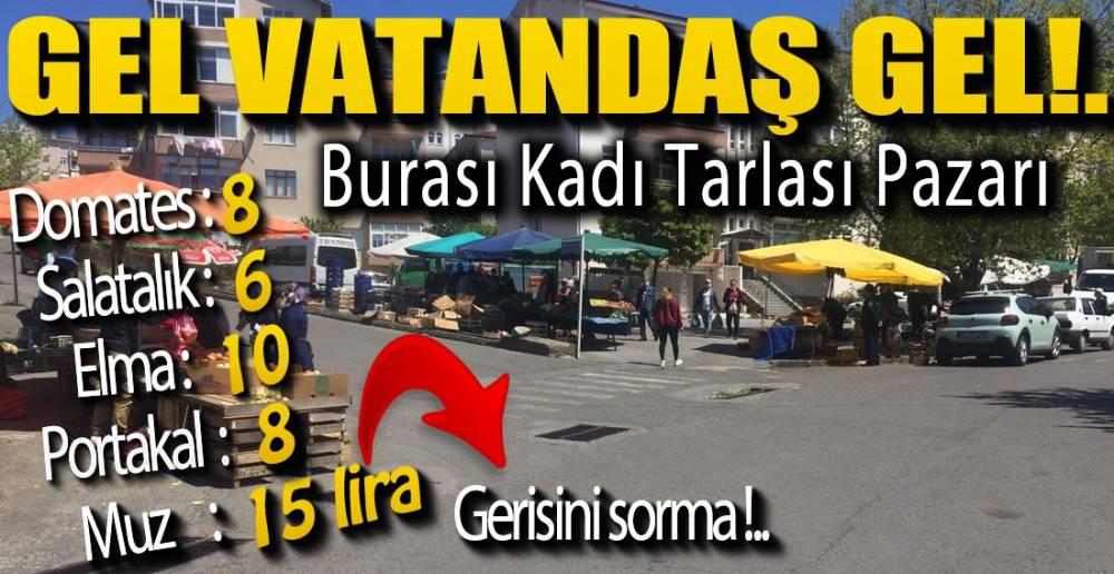 PAZAR KURULDU, FİYATLAR UÇTU !.