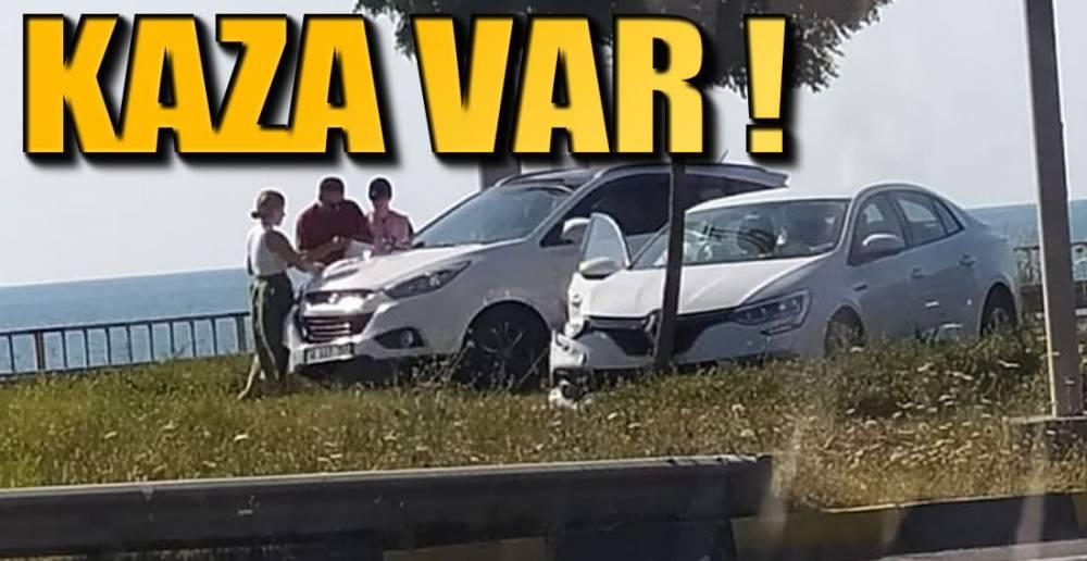 PLAJLAR BÖLGESİNDE KAZA !.