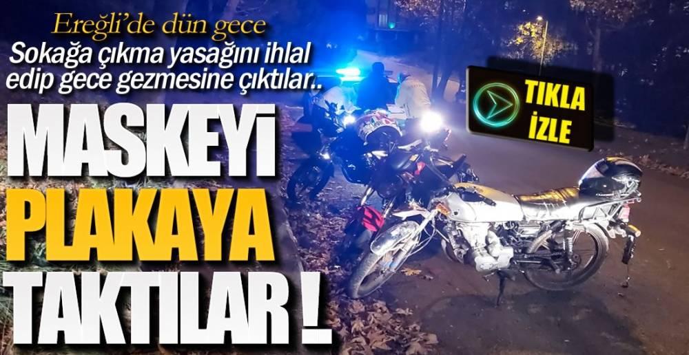 PLAKAYA MASKELİ ÖNLEM !.