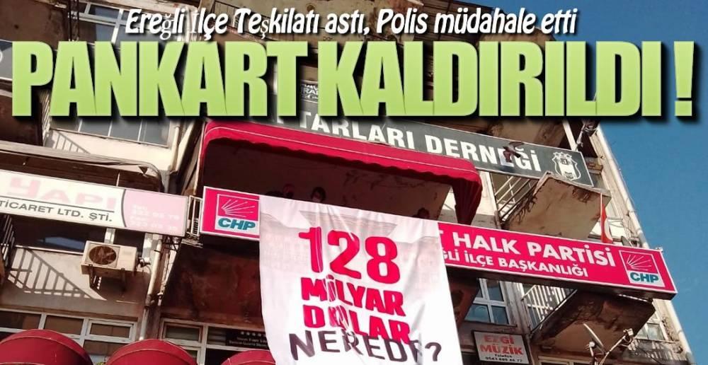 POLİS CHP'DE !.