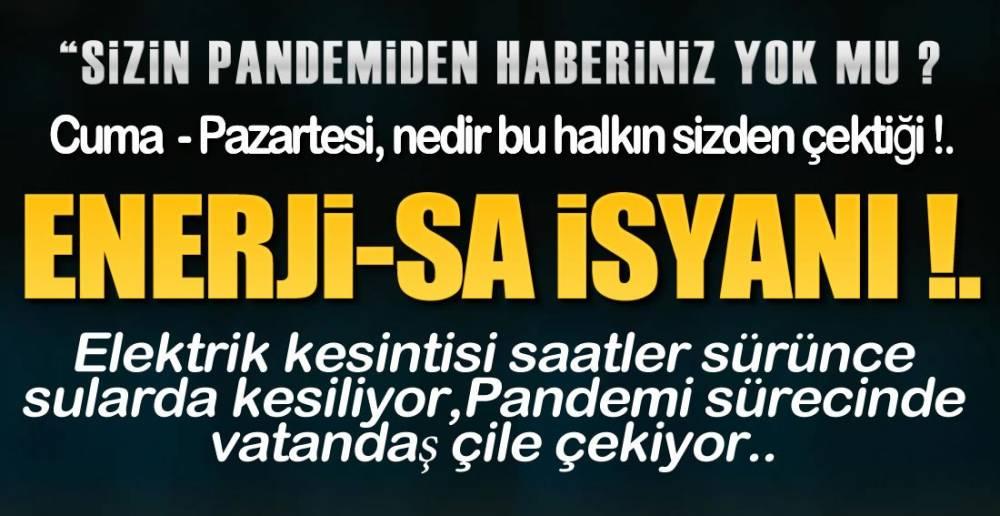 """"""" HİJYEN"""" DİYORLAR, SUYU KESİYORLAR !."""