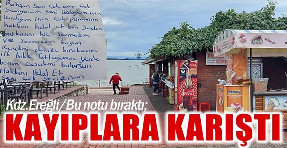KENDİMİ DENİZE BIRAKACAĞIM  !.