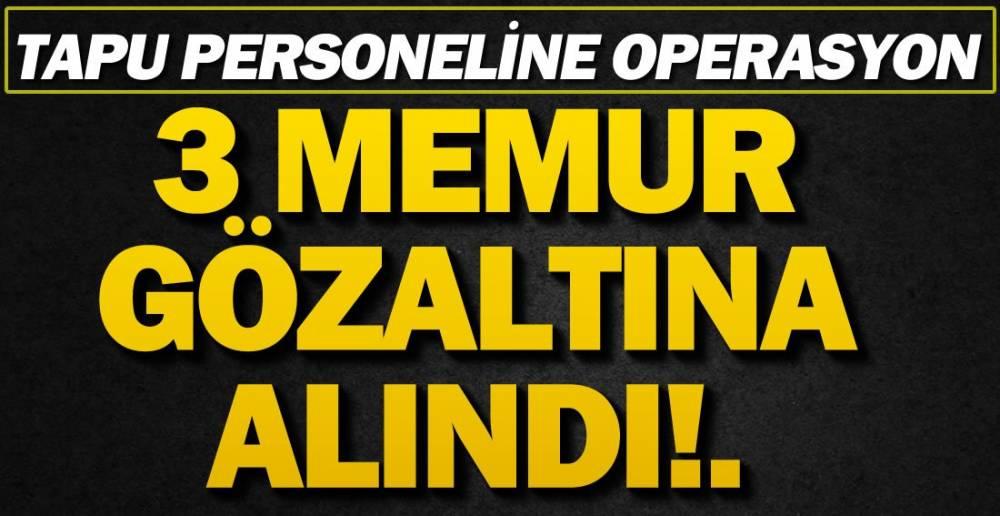 RÜŞVET ALDIKLARI İDDİA EDİLİYOR !.