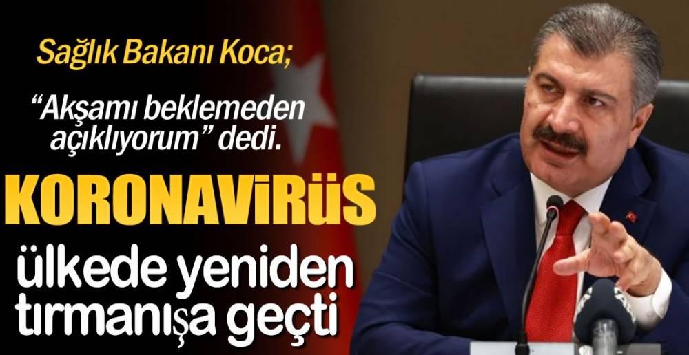 SAĞLIK BAKANI AKŞAMI BEKLEMEDİ !.