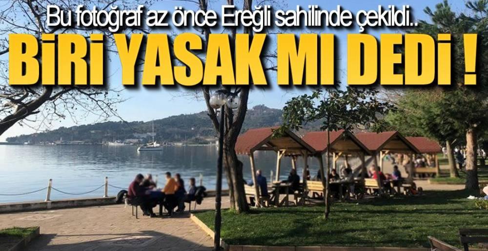 SAHİL DOLUP TAŞTI !.