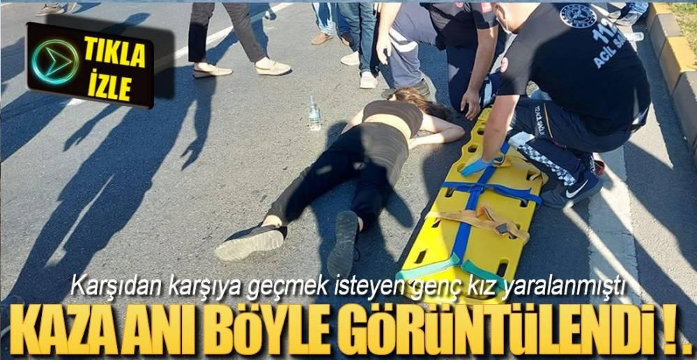 SANİYE SANİYE KAZA ANI !.