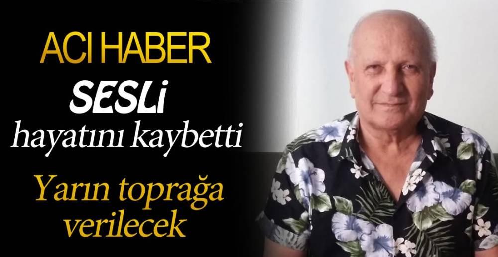 SESLİ HAYATINI KAYBETTİ !.