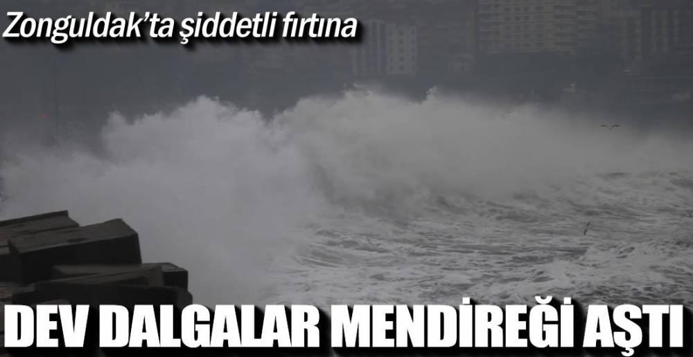 ŞİDDETLİ FIRTINA ETKİLİ OLUYOR !.