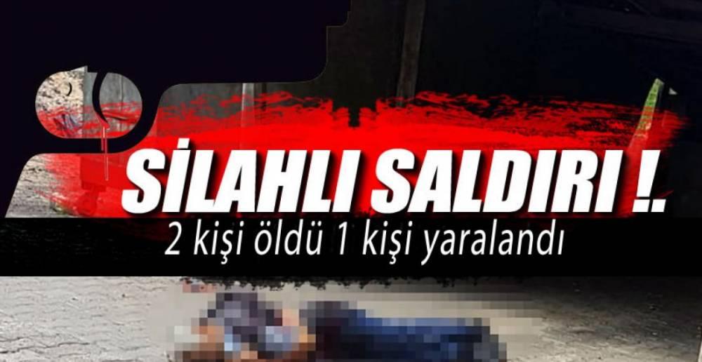 SİLAHLI SALDIRI !.