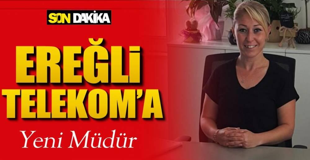 TELEKOM'A YENİ MÜDÜR !.