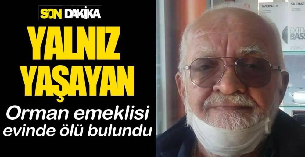 EVİNDE ÖLÜ BULUNDU !.