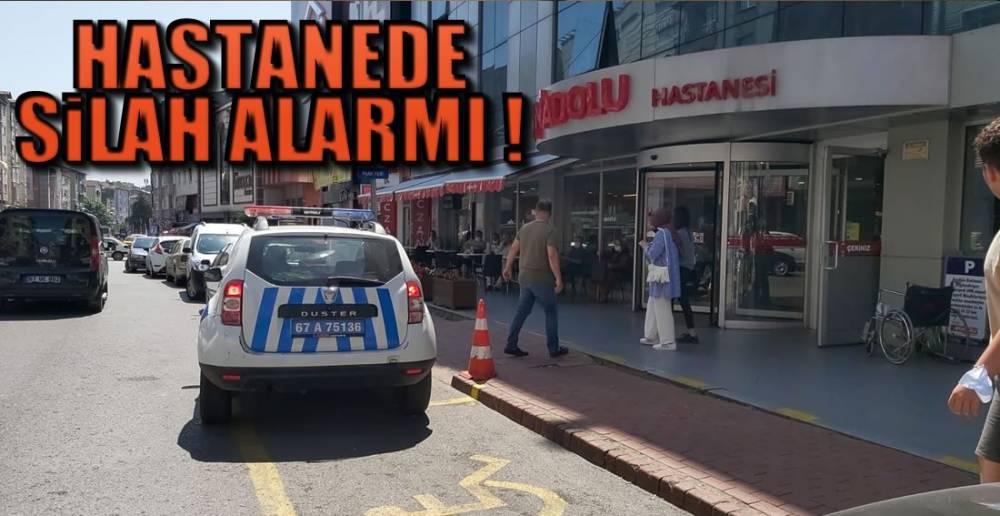 SİLAHLA GELMİŞ !.