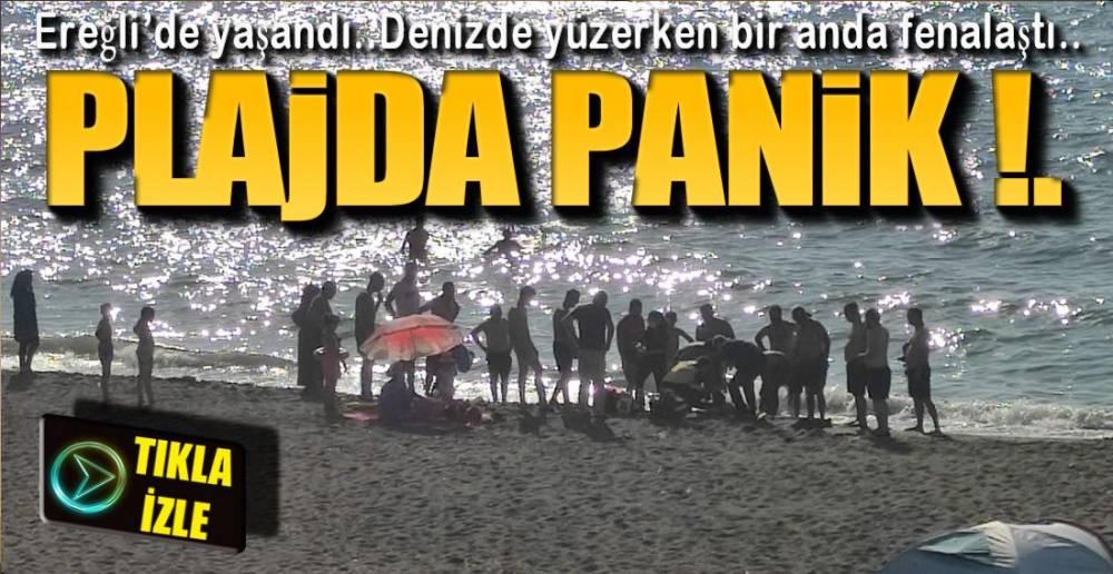 PLAJDA PANİK !.