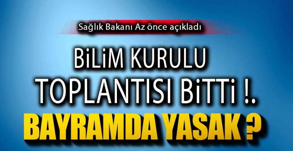 BAKAN AÇIKLADI !.
