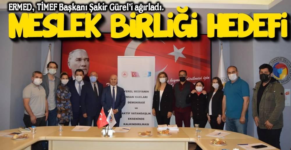 TİMEF BAŞKANI EREĞLİ'YE GELDİ