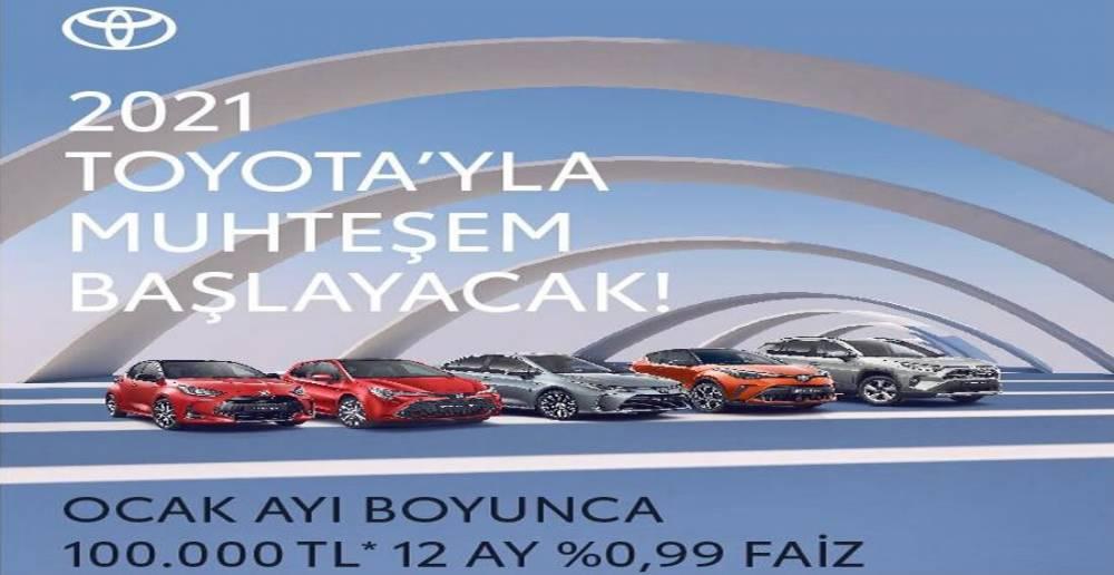 TOYOTA PLAZA GÖKTEPE'DE YENİ YIL KAMPANYASI